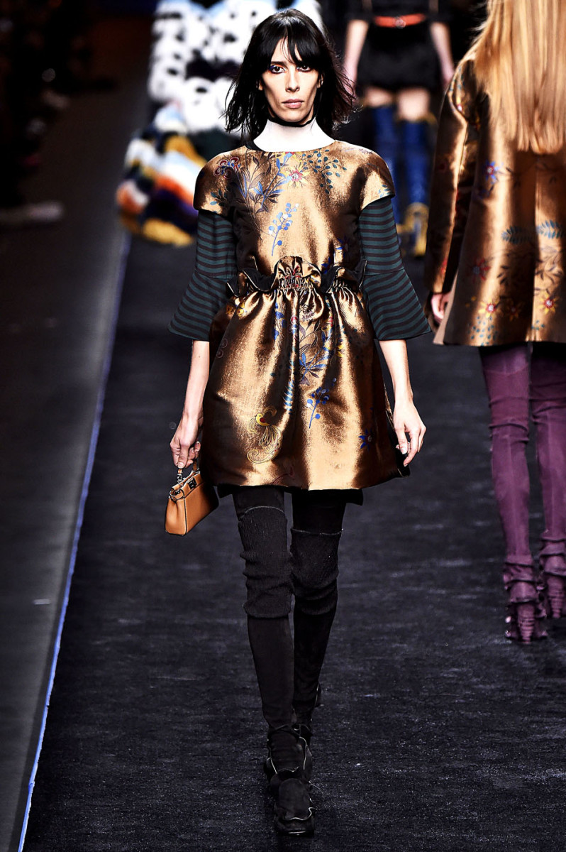 Fendi Milan RTW Fall Winter 2016 February 2016