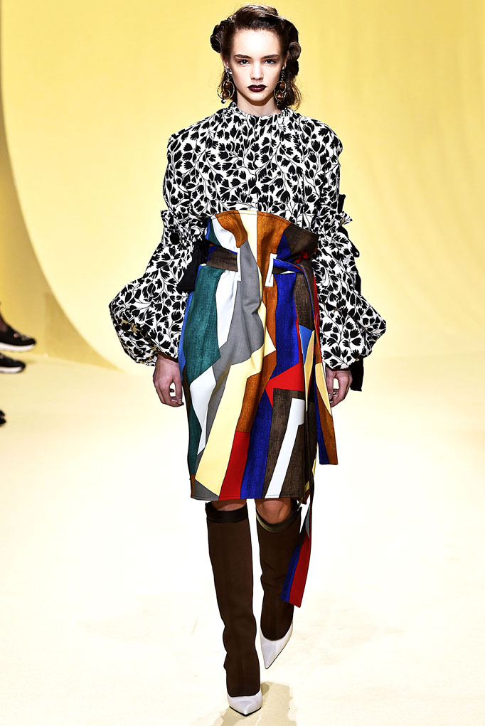 Marni Milan RTW Fall Winter 2016 February 2016