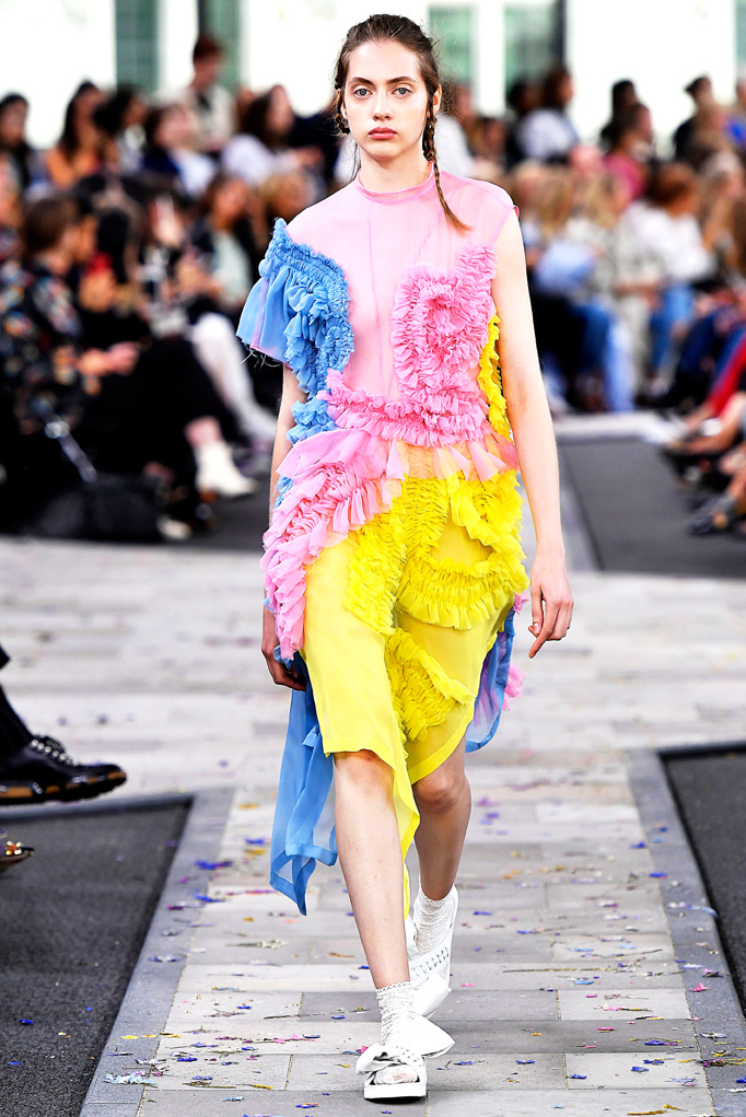 Preen London RTW Spring Summer 2017 September 2016