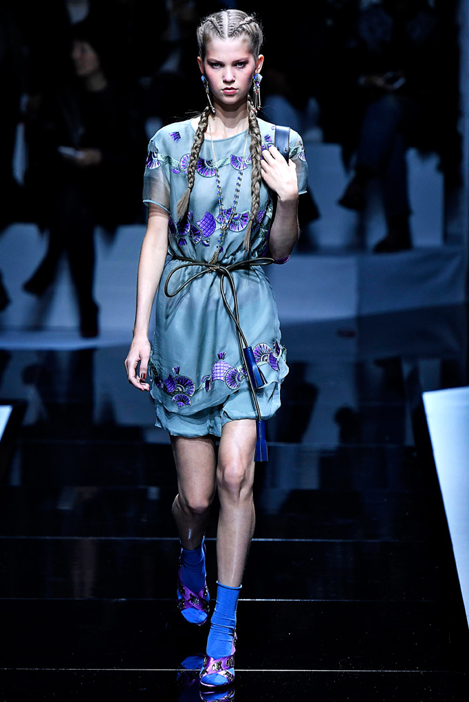 Emporio Armani Paris RTW Spring Summer 2017 September - October 2016