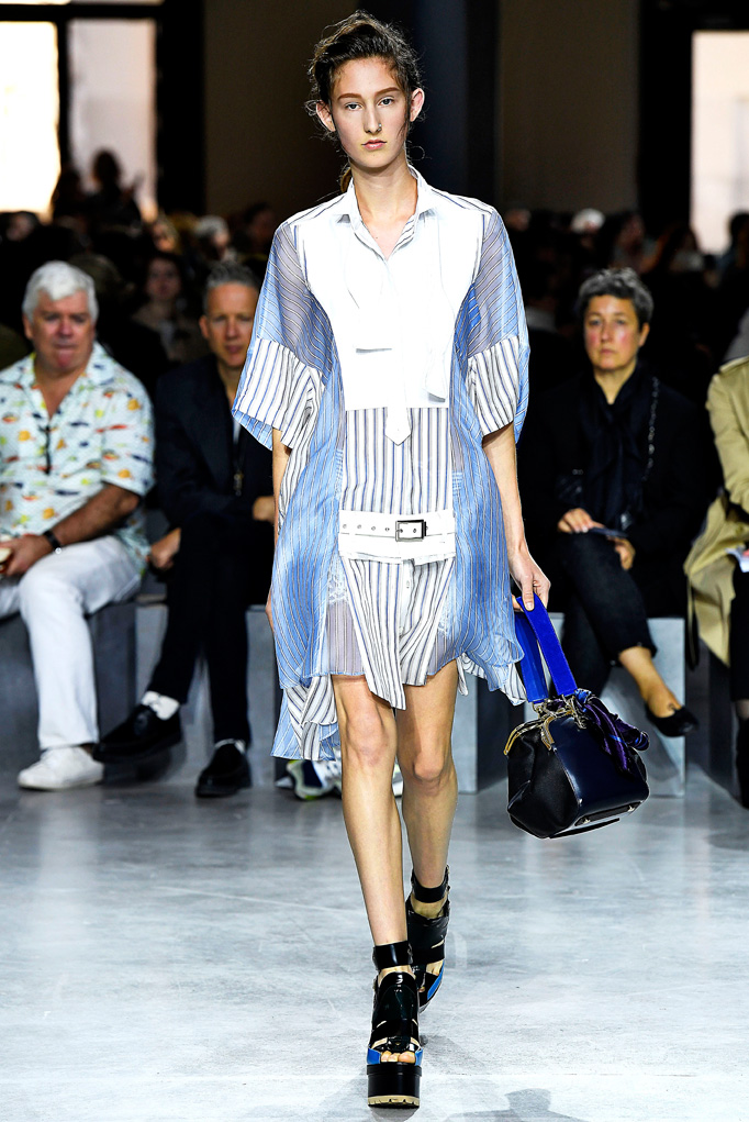 Sacai Paris RTW Spring Summer 2017 September - October 2016