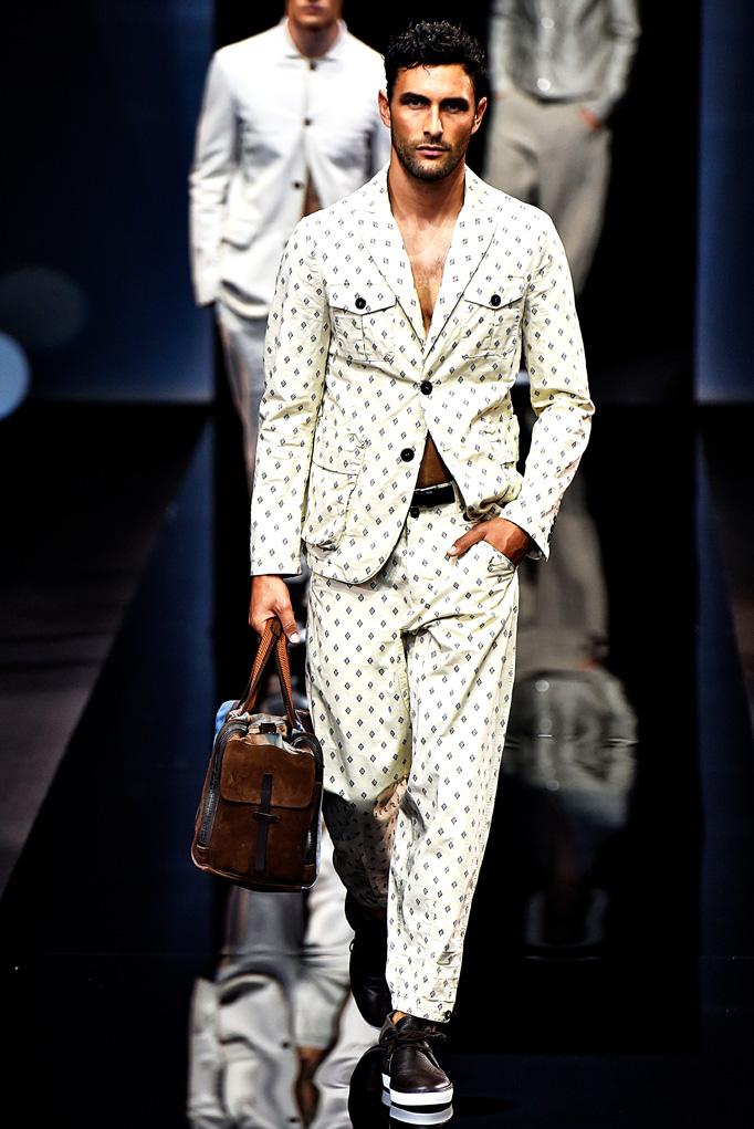 Giorgio Armani Milan Menswear Spring Summer 2017 June 2016