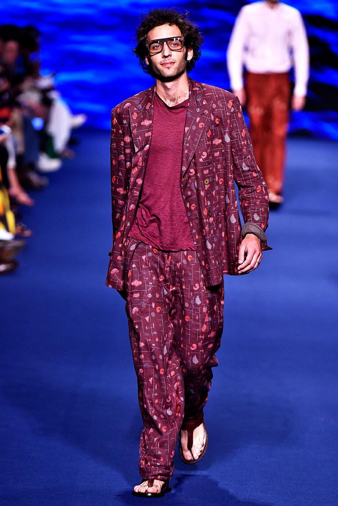 Etro Milan Menswear Spring Summer 2017 June 2016