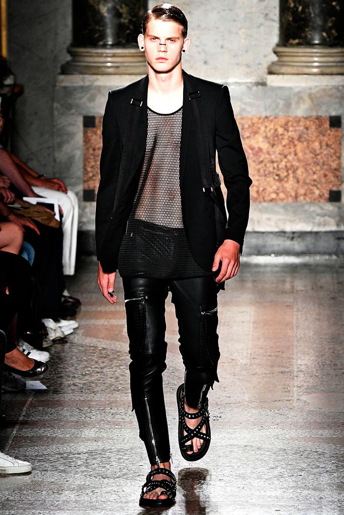 Les Hommes Milan Menswear Spring Summer 2017 June 2016