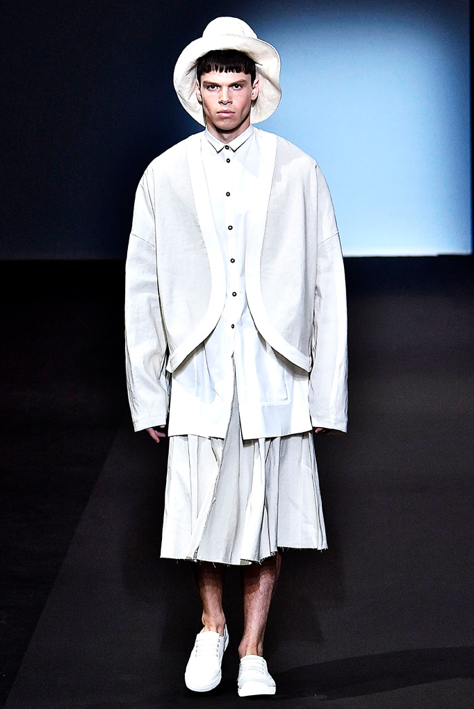 Miaoran Milan Menswear Spring Summer 2017 June 2016