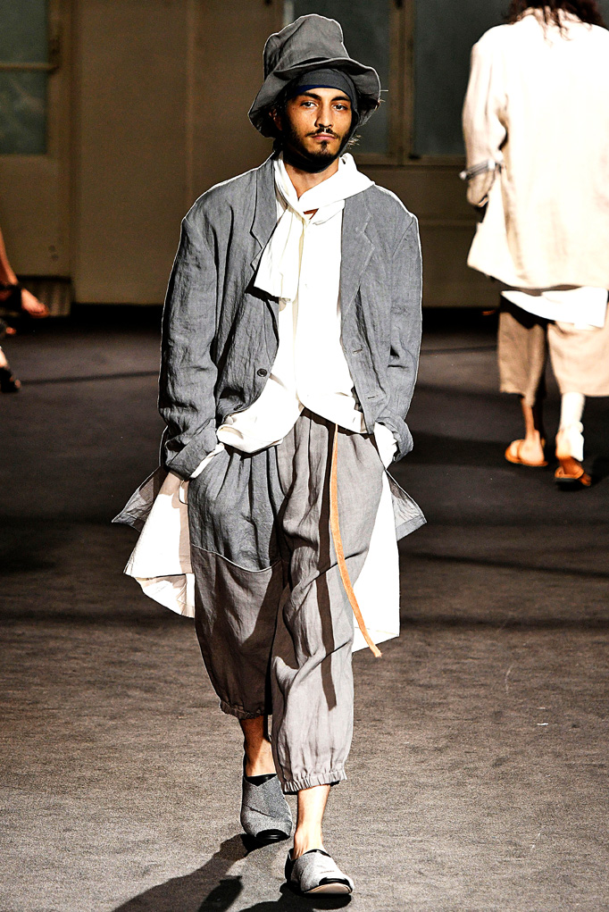 Yohji Paris Menswear Spring Summer 2017 June 2016