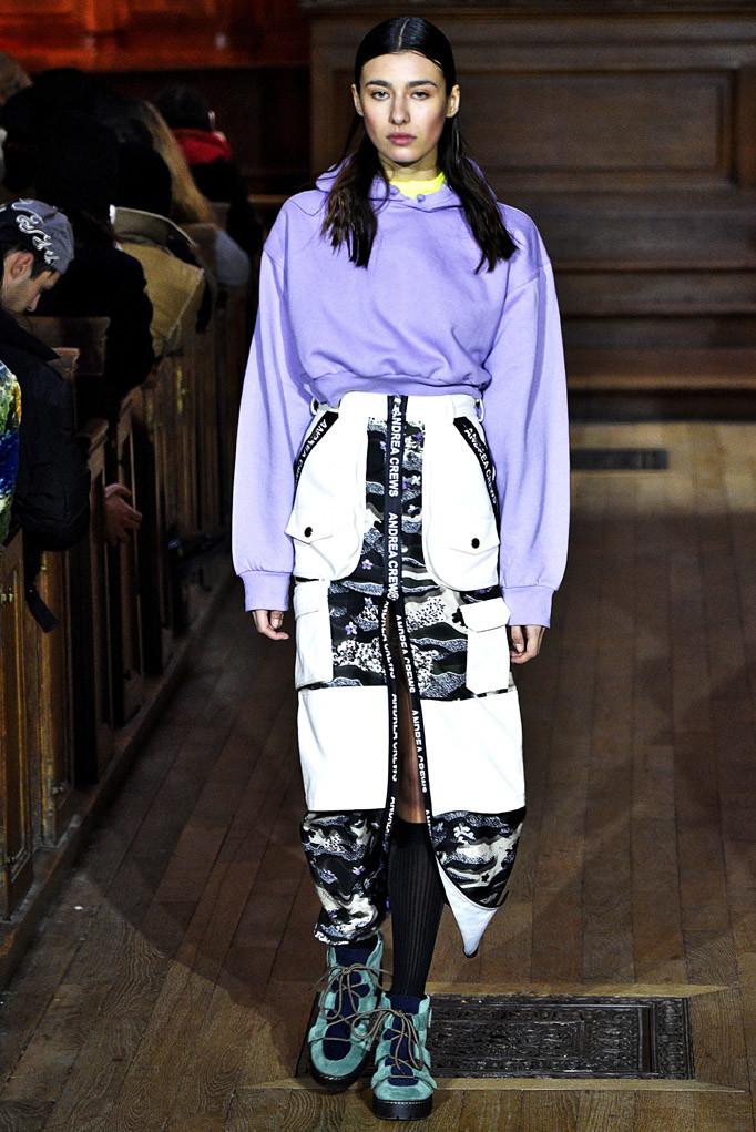 Andrea Crews Paris Menswear Fall Winter 2017 January 2017
