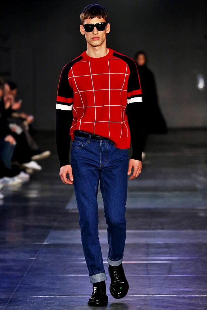 AMI Paris Menswear Fall Winter 2017 January 2017