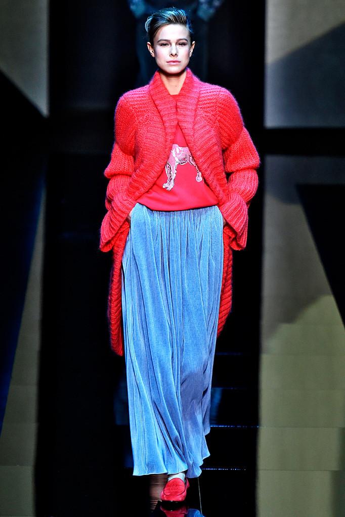 Giorgio Armani Milan Menswear Fall Winter 2017 - January 2017