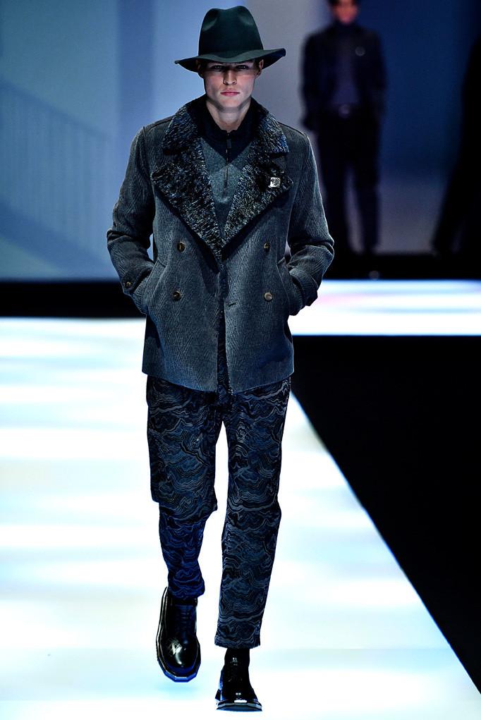 Emporio Armani Milan Menswear Fall Winter 2017 January 2017