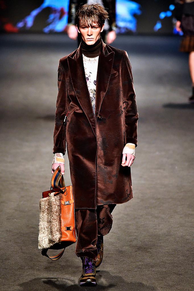 Etro Milan Menswear Fall Winter 2017 January 2017