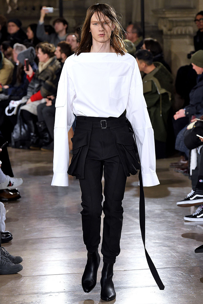 Juun J Paris Menswear Fall Winter 2017 January 2017