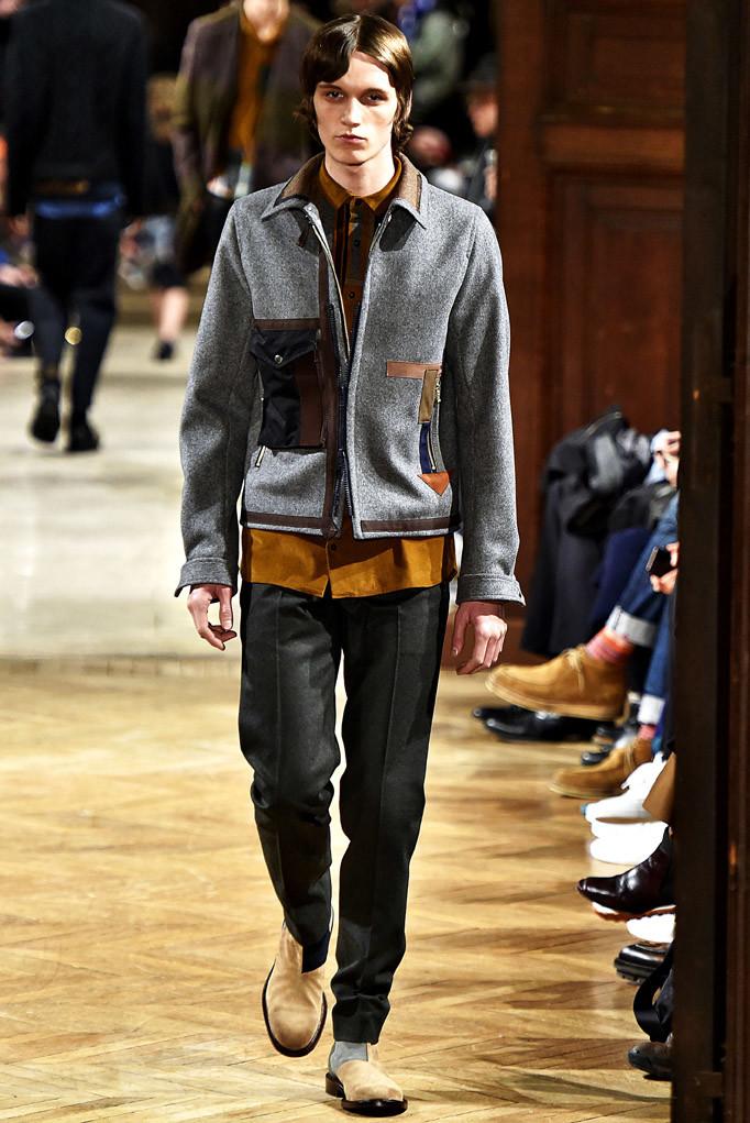 Kolor Paris Menswear Fall Winter 2017 - January 2017