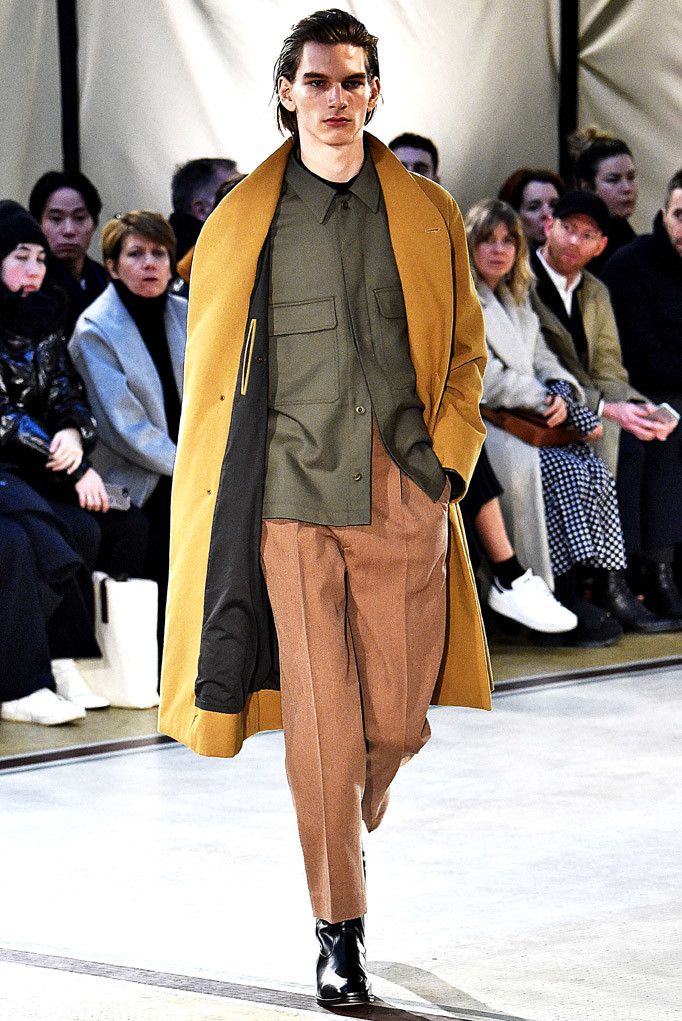 Lemaire Paris Menswear Fall Winter 2017 January 2017