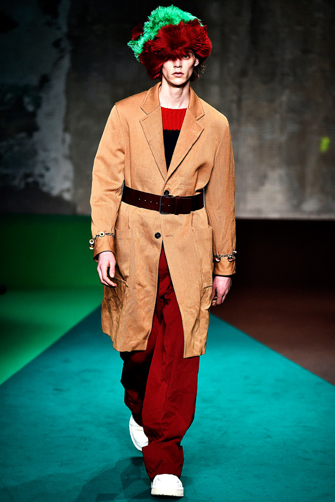 Marni Milan Menswear Fall Winter 2017 - January 2017