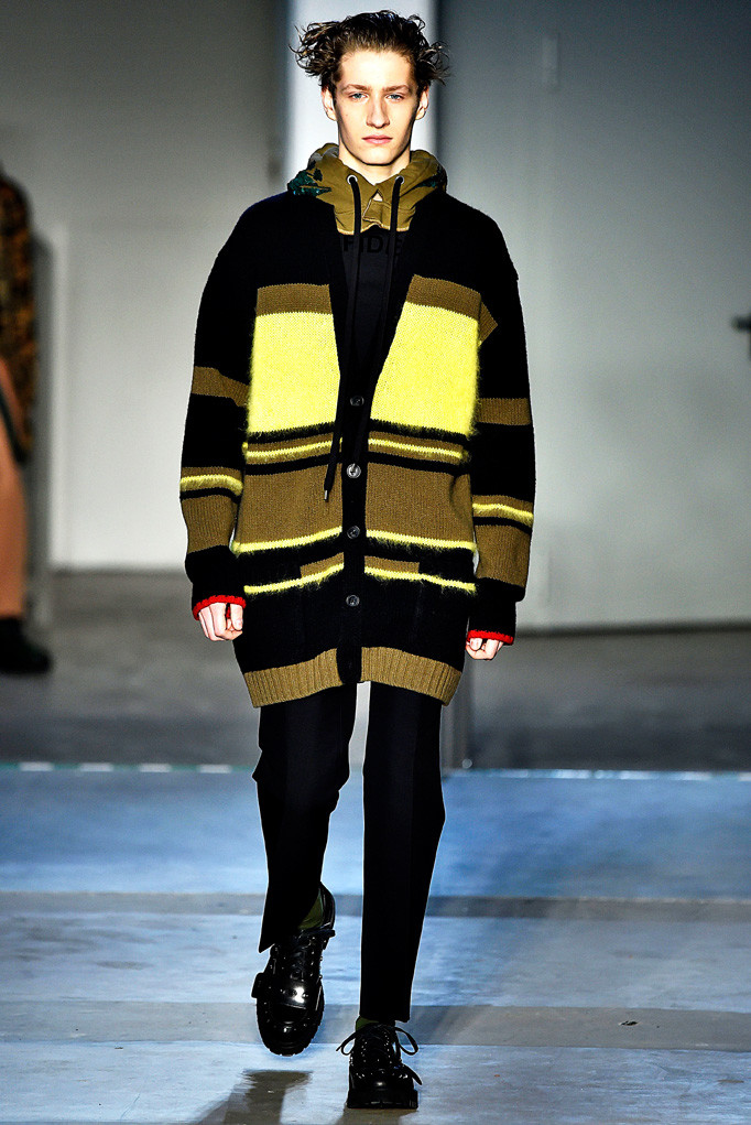 N21 Milan Menswear Fall Winter 2017 January 2017