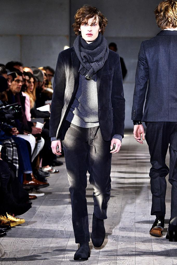 Officine Generale Paris Menswear Fall Winter 2017 - January 2017