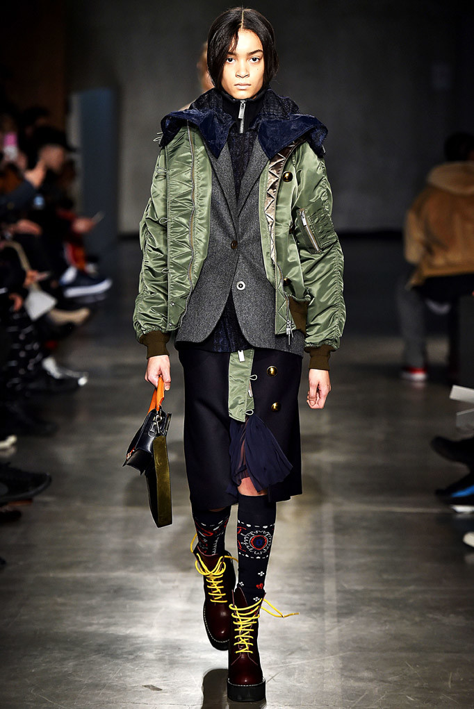 Sacai Paris Menswear Fall Winter 2017 January 2017