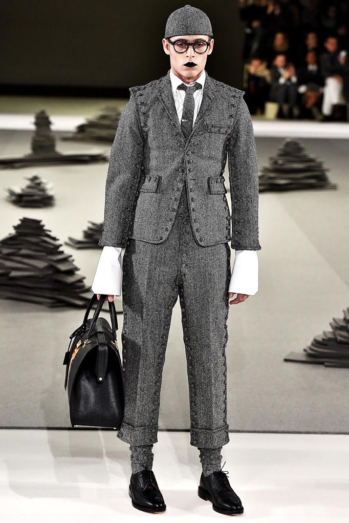 Thom Browne Paris Menswear Fall Winter 2017 January 2017
