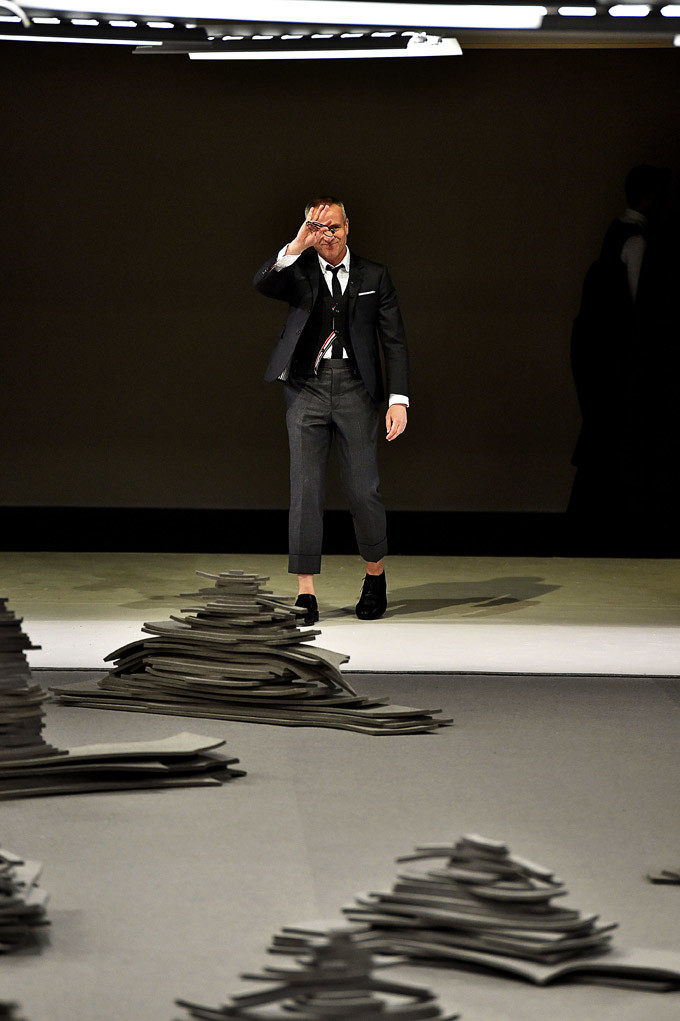 Thom Browne Paris Menswear Fall Winter 2017