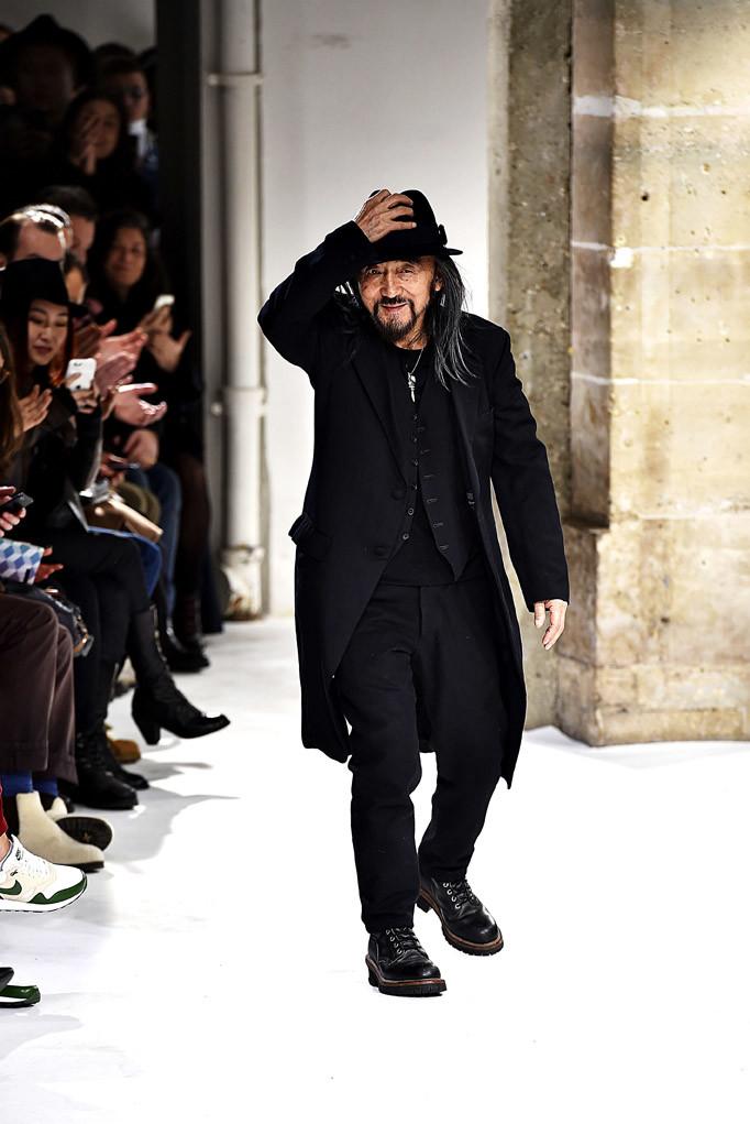 Yohji Yamamoto Paris Menswear Fall Winter 2017