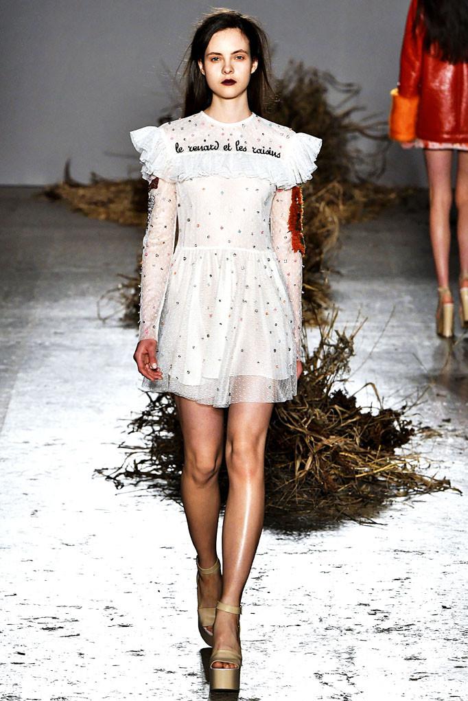 Au Jour Le Jour Milan Womenswear Fall Winter 2017 Milan February 2017