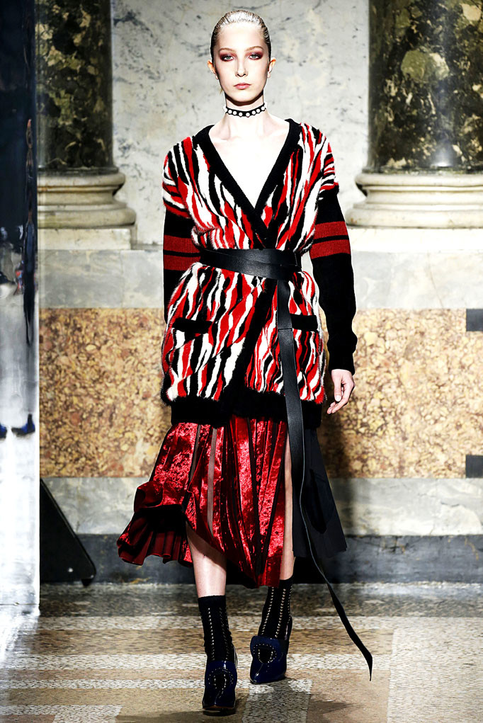 Angelo Marani Milan Womenswear Fall Winter 2017 Milan February 2017