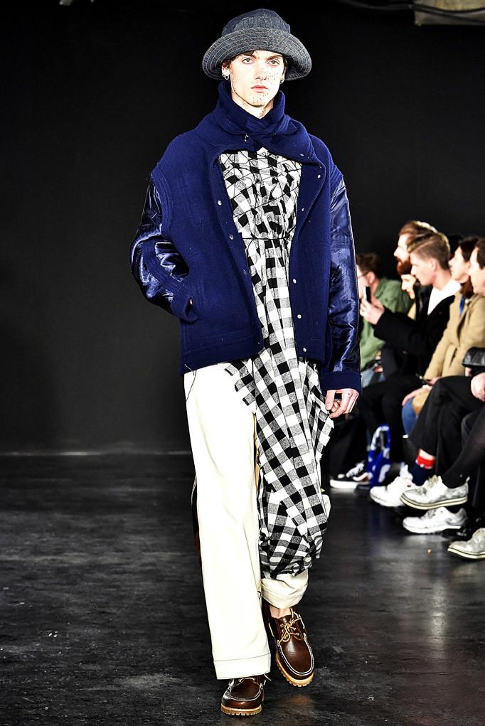 Alex Mullins London Menswear Fall Winter 2017 January 2017