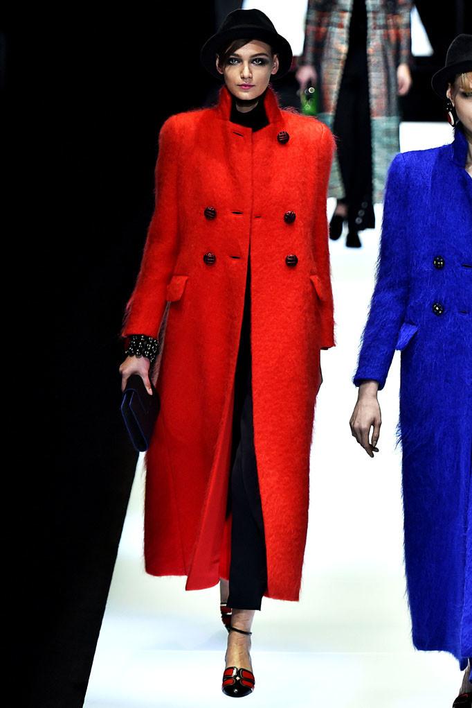 Giorgio Armani Milan Womenswear Fall Winter 2017 Milan February 2017