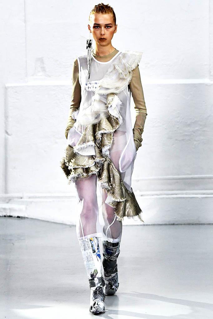 Anne Sofie Madsen Paris Womenswear Fall Winter 2017 Paris March 2017