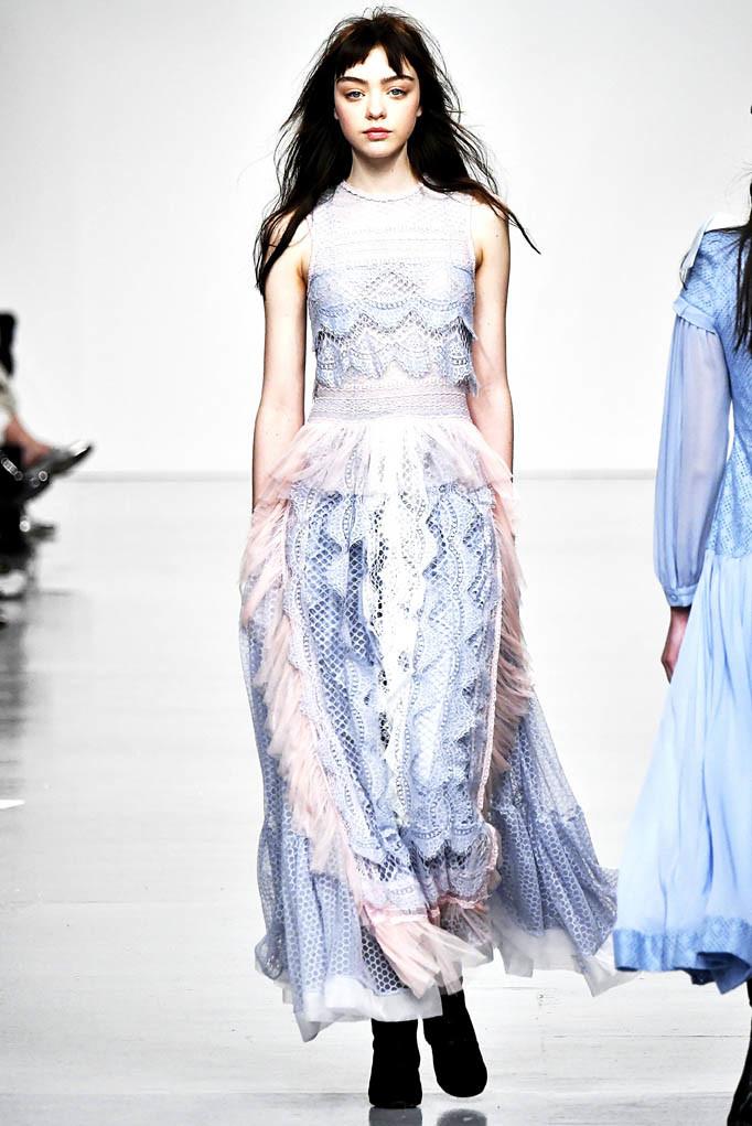 Bora Aksu London Womenswear Fall Winter 2017 London February 2017