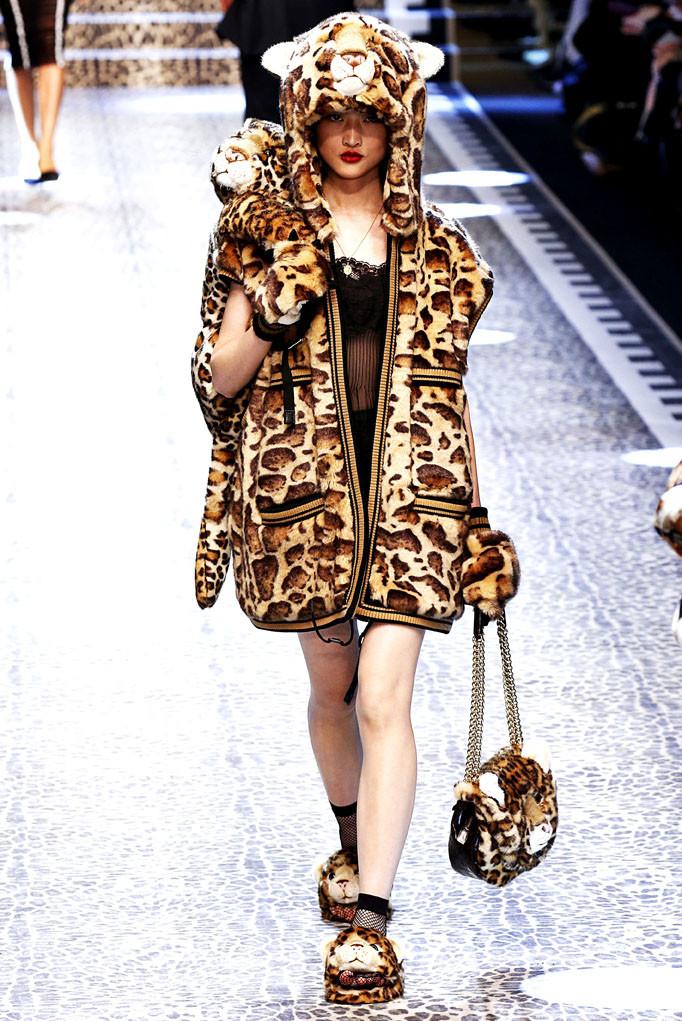 Dolce Gabbana Milan Womenswear Fall Winter 2017 Milan February 2017