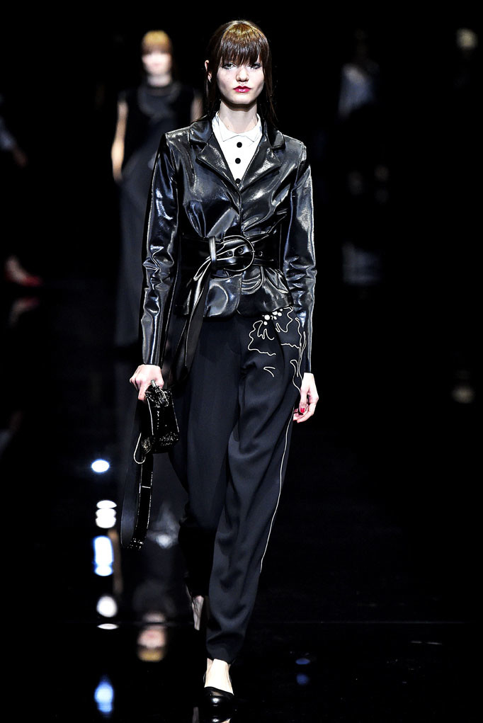 Emporio Armani Milan Womenswear Fall Winter 2017 Milan February 2017