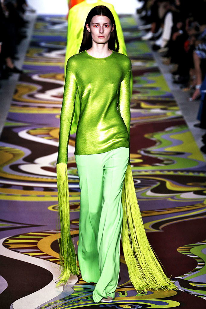 Emilio Pucci Milan Womenswear Fall Winter 2017 Milan February 2017