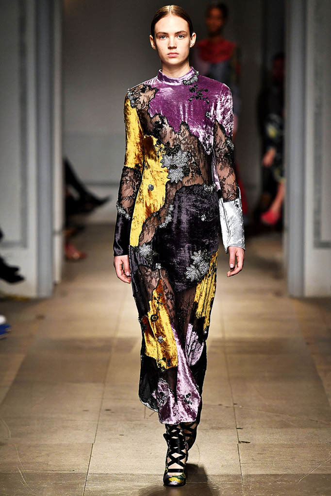 Erdem London Womenswear Fall Winter 17 London February 2017