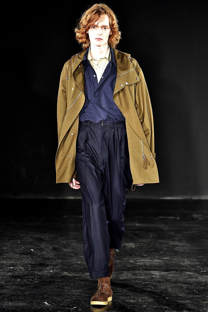 E Tautz London Menswear Fall Winter 2017 January 2017