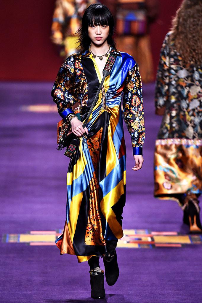 Etro Milan Womenswear Fall Winter 2017 Milan February 2017