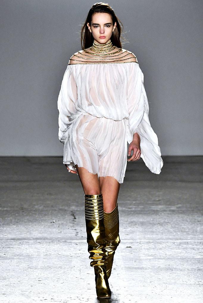 Genny Milan Womenswear Fall Winter 2017 Milan February 2017