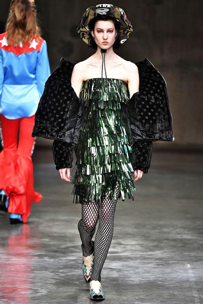 House Of Holland London Womenswear Fall Winter 2017 London February 2017