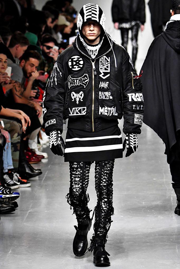 KTZ London Menswear Fall Winter 2017 January 2017