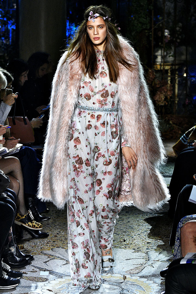 Luisa Beccaria Milan Womenswear Fall Winter 2017 Milan February 2017