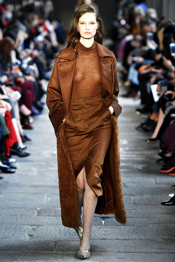 MaxMara Milan Womenswear Fall Winter 2017 Milan February 2017