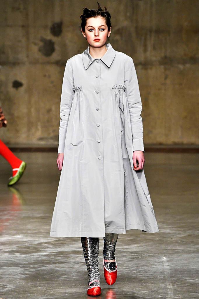 Molly Goddard London Womenswear Fall Winter 17 London February 2017