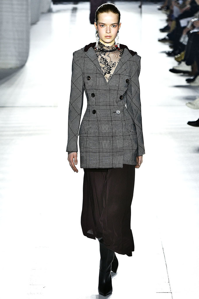 Mila Schon Milan Womenswear Fall Winter 2017 Milan February 2017