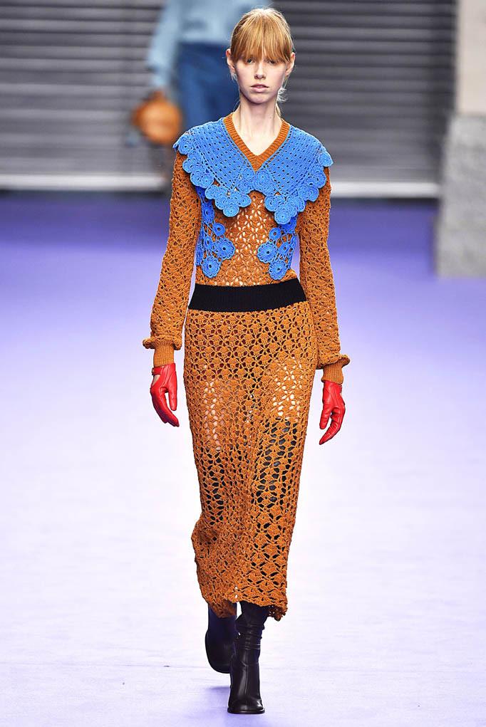 Mulberry London Womenswear Fall Winter 17 London February 2017