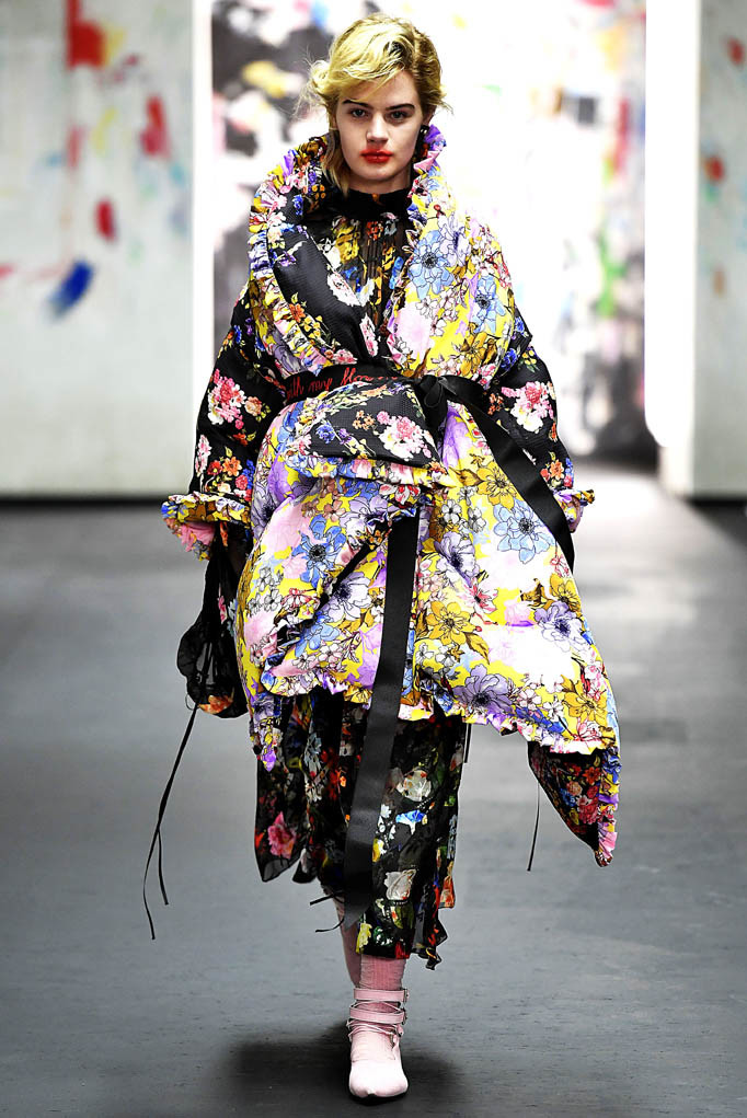 Preen London Womenswear Fall Winter 2017 London February 2017