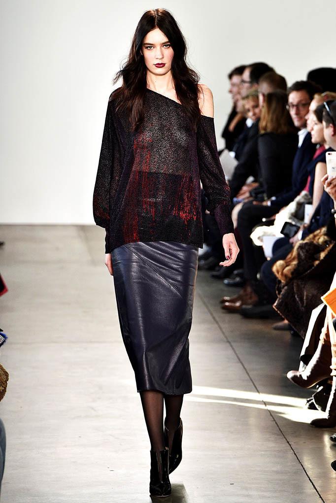 Pamella Roland New York Womenswear FW17 New York February 2017