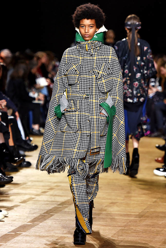 Sacai Paris Womenswear Fall Winter 2017 Paris March 2017