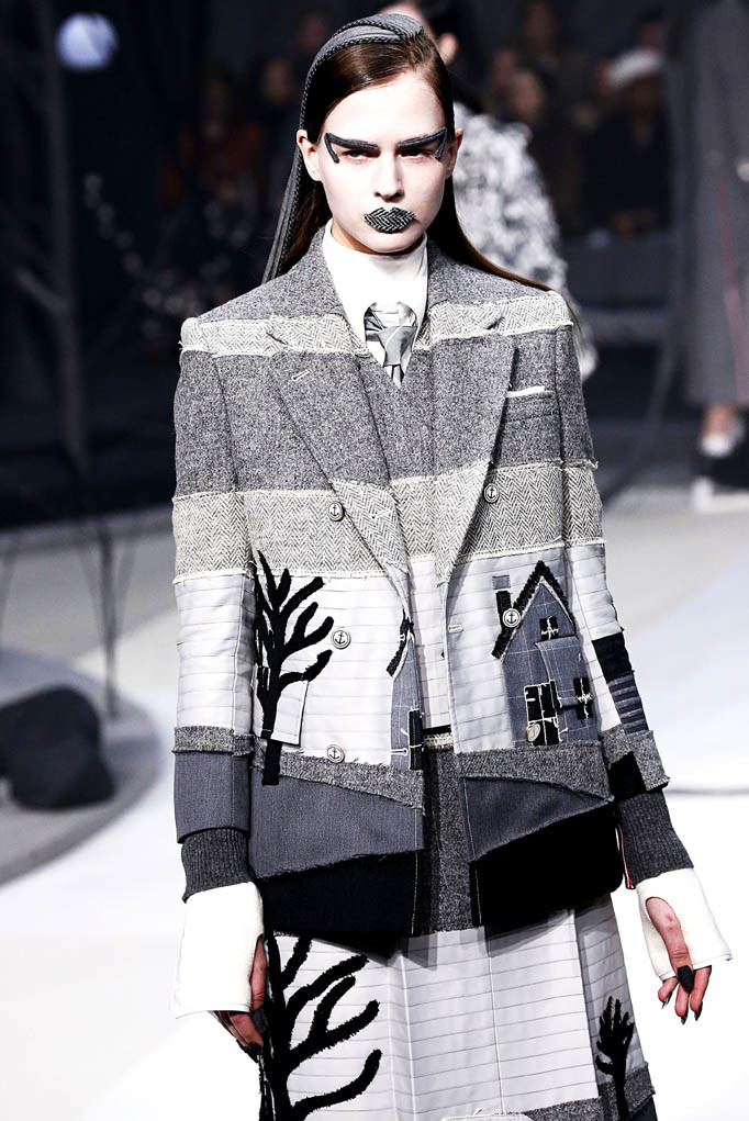 Thom Browne New York Womenswear Fall Winter 2017 New York Feb 2017