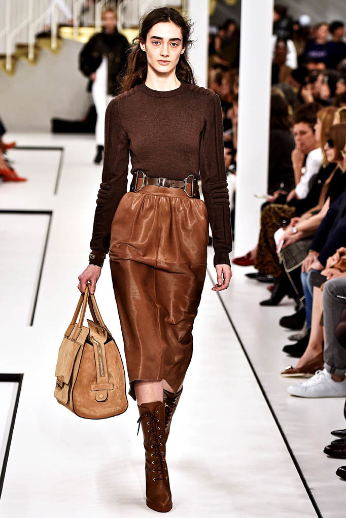 Tods show Milan Womenswear Fall Winter 2017 Milan February 2017